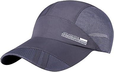 Women Sport Baseball Mesh Hat Men Running Visor Quick-drying Cap Outdoor Summer
