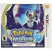 Pokemon Moon - Bonus Lunala Figure | Nintento 3DS