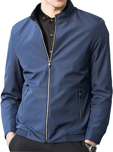 F.Shanlihong Mens Casual Plaid Flannel Long Sleeve Slim Button-Down Shirts