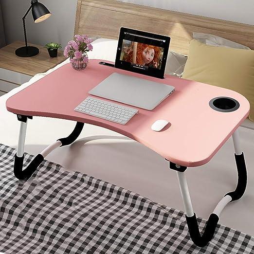 Mesa Plegable Portátil Plegable para Escritorio con Ranura para ...