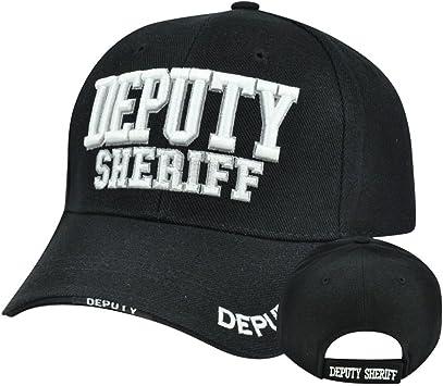El Sheriff del condado de la ley Policía construido sombrero gorra ...