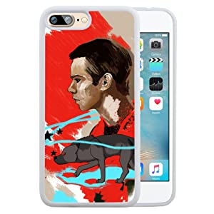 iPhone 7 Plus 5.5 Case,TPU and PC TV Play Teen Wolf Protective Case For iPhone 7 Plus 5.5 White