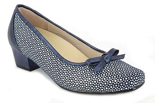 diseño atemporal 0800a 6bc36 Zapato Mujer Salon tacón de la Marca DOCTOR CUTILLAS en Piel ...