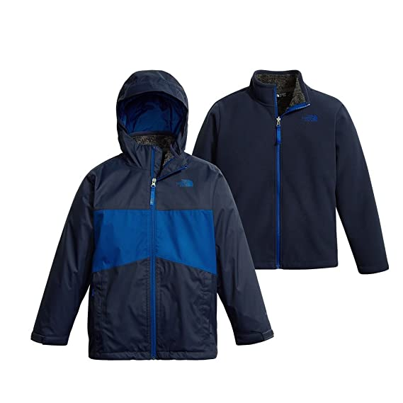 6e172f47fac1 Image Unavailable. Image not available for. Colour  The North Face Boy s  Chimborazo Triclimate Jacket ...