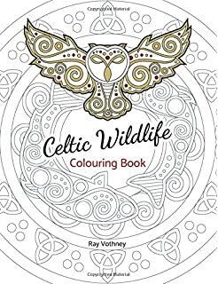 Celtic Designs Adult Coloring Book (31 stress-relieving designs ...