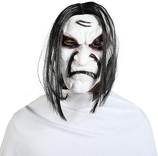 Máscara de horror de Halloween, máscara de zombie de cara completa ...