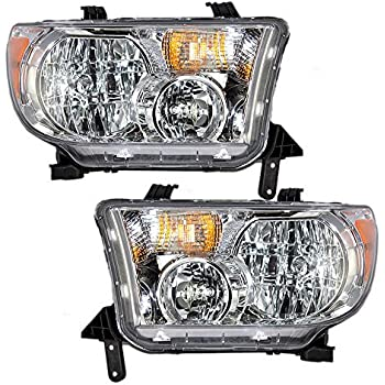 Amazon Com Toyota Tundra Replacement Headlight Assembly 1 Pair