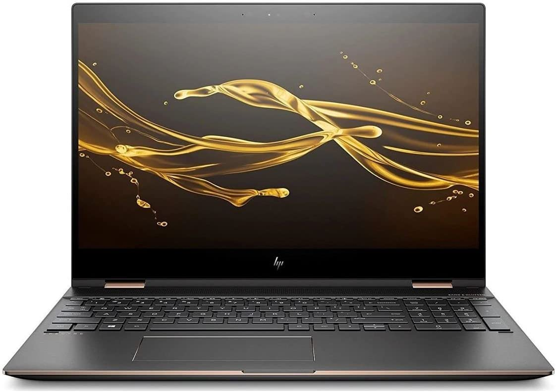 HP Spectre x360 15-CH011DX 4K IPS 2-in-1 Touch Screen Laptop - Intel Core i7-8550U NVIDIA GeForce MX150 512GB SSD 16GB RAM Windows 10 (Renewed)