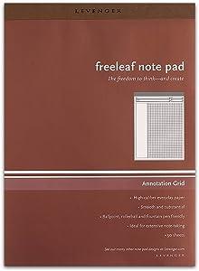 Levenger Freeleaf Annotation Grid Pads, Letter (5) (ADS5590)