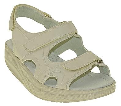 Bootsland 728 Sandalen Fitnessschuhe Gesundheitsschuhe Damen, Schuhgröße 36 f44b8c72ad