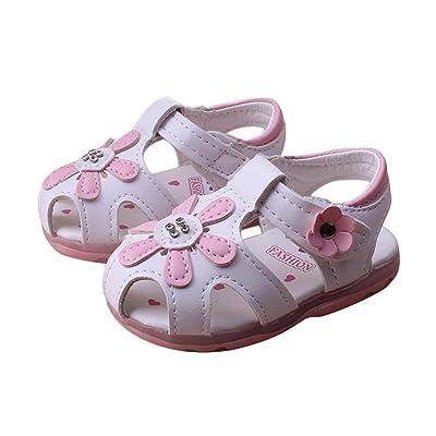 Longra Bambin Bébé Filles Tournesol Soft-Soled Princess Shoes (Taille  ... 5152c83f77a4