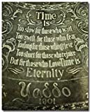 Romantic Bedroom Decor, Time Is Quotation, Yaddo Saratoga Springs Picture, Anniversary Gift, Unique Wedding Gift.