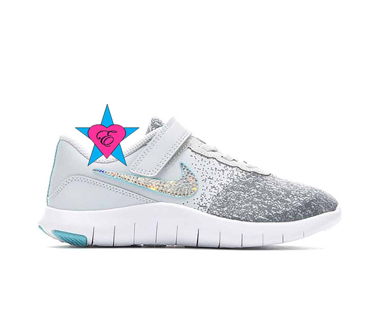 6318ec237464 Amazon.com  Rhinestone Sneakers for Girls