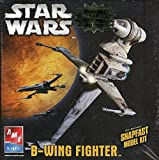 #9: AMT ERTL 1:94 Star Wars B-Wing Fighter w Collectible 5x7