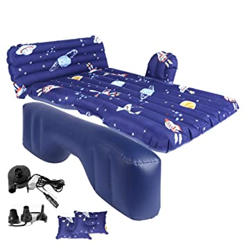 LYzpf Auto Colchon Inflable Hinchable Asiento Trasero Bomba ...