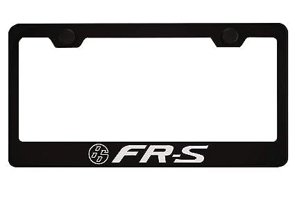 Amazon.com: Scion FR-S Black License Plate Frame with Caps: Automotive