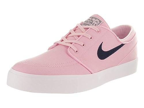 finest selection ccf3d 31946 Nike Mens Zoom Stefan Janoski Cnvs Prism PinkObsidian Skate Shoe 9 Men US