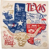 Texas State Dish Towel Primitives by Kathy