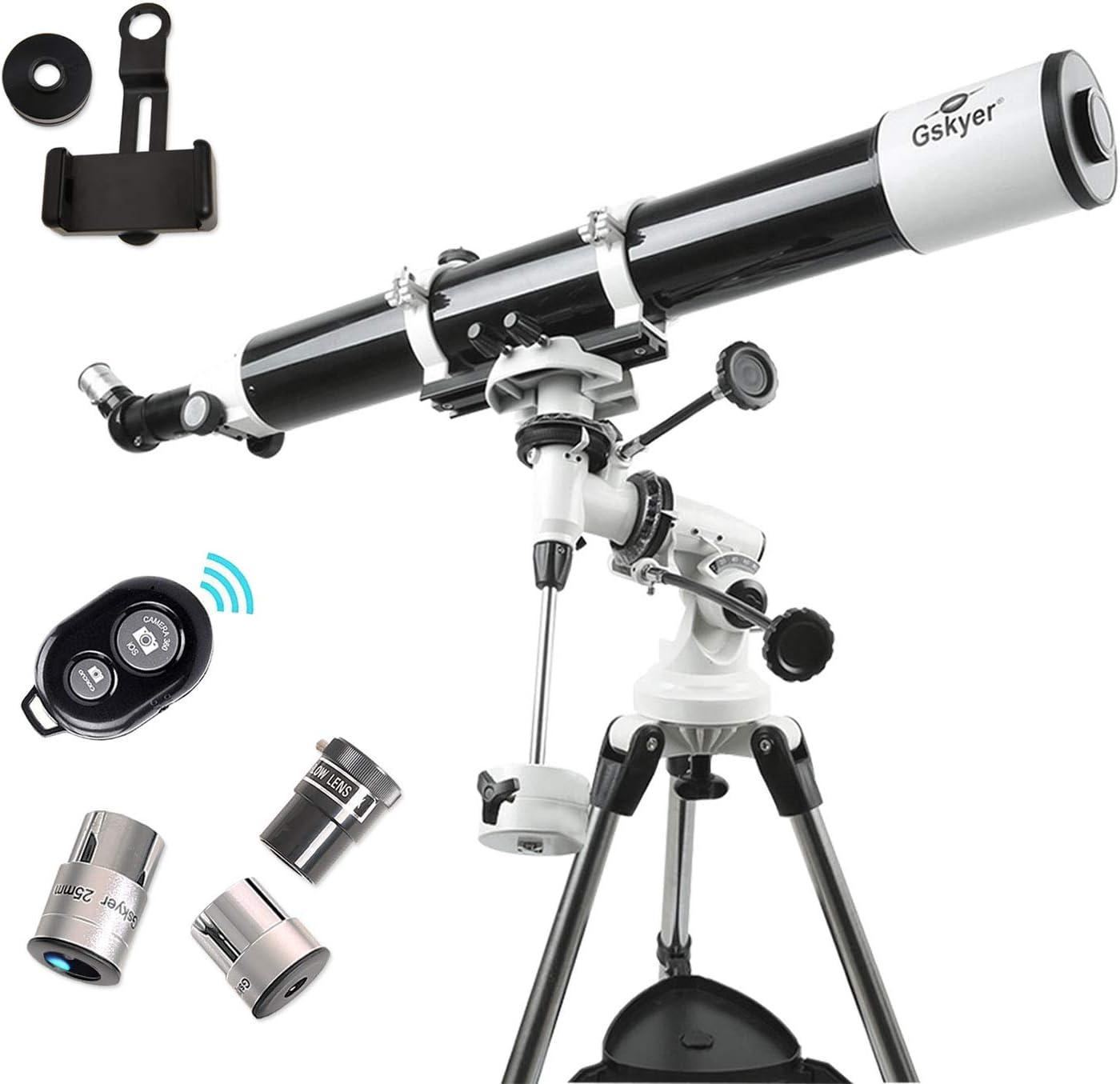 Gskyer Telescope 600x90mm AZ Astronomical Refractor Telescope German Technology Scope