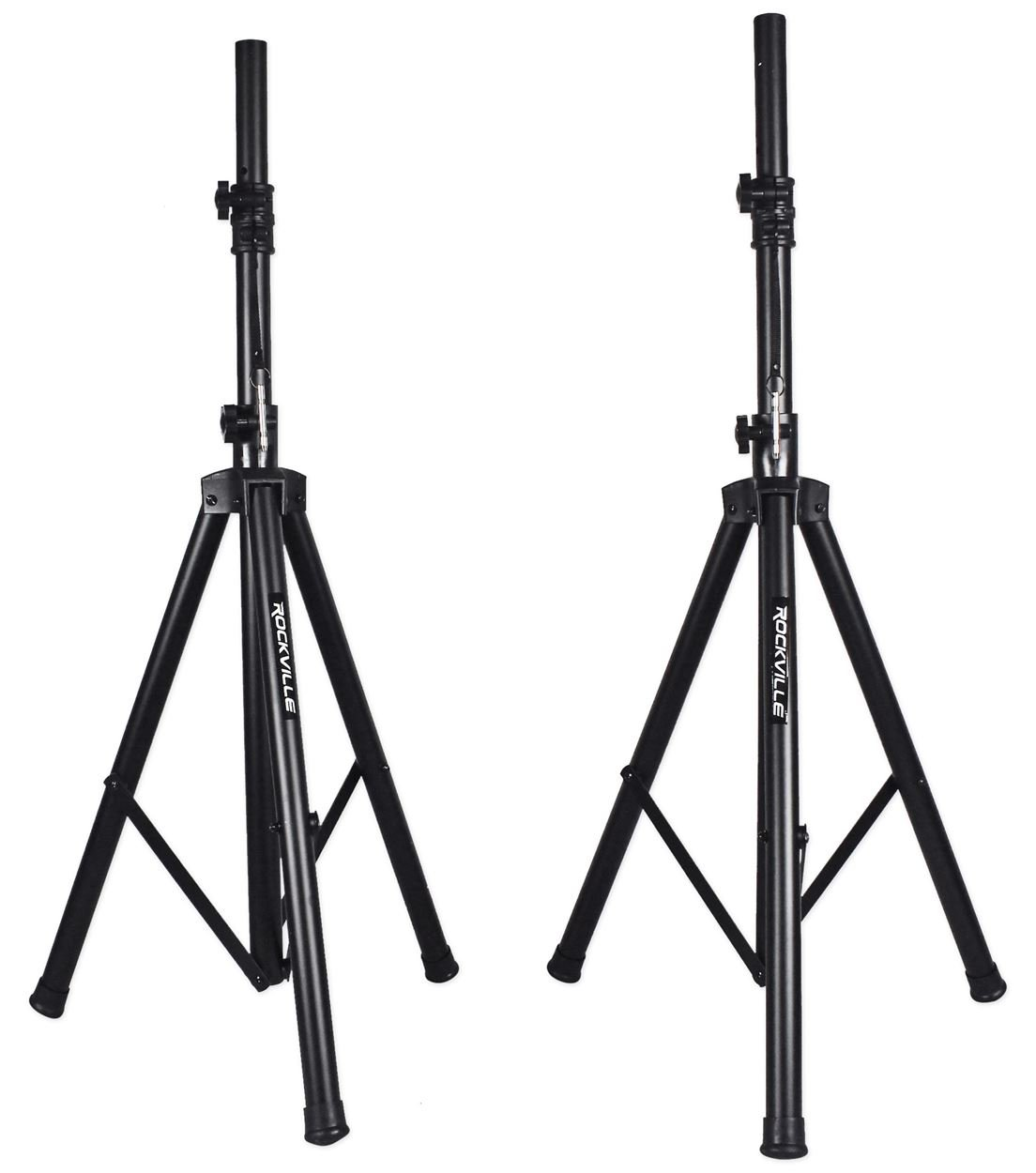 Rockville Rpg122k Dual 12 Powered Speakers Bluetooth Speaker Cabi Wiring Diagrams As Well 4 Ohm Sub To 2 Mic Stands Cables Musical Instruments