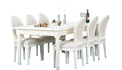 Tavolo Bianco Barocco.Tavolo Da Pranzo Barocco Da 8 Pezzi Tavolo Da Pranzo Con