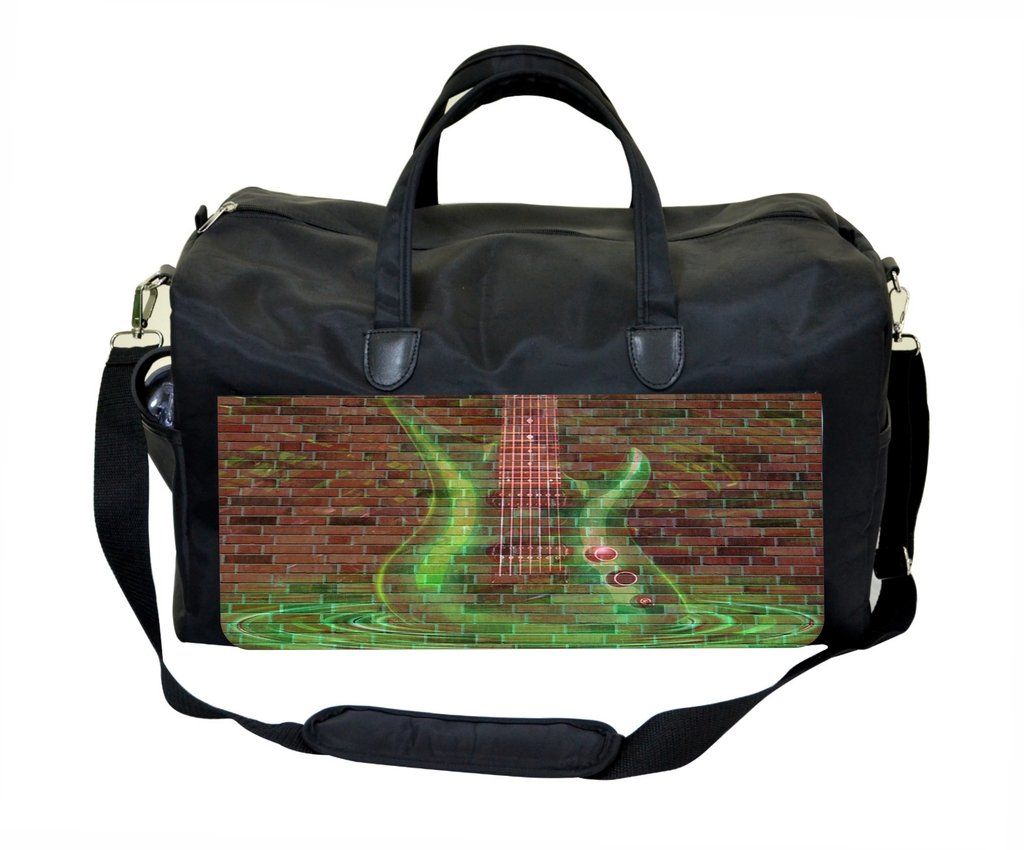 Electric Guitar Wall Art Print Design Therapist Bag