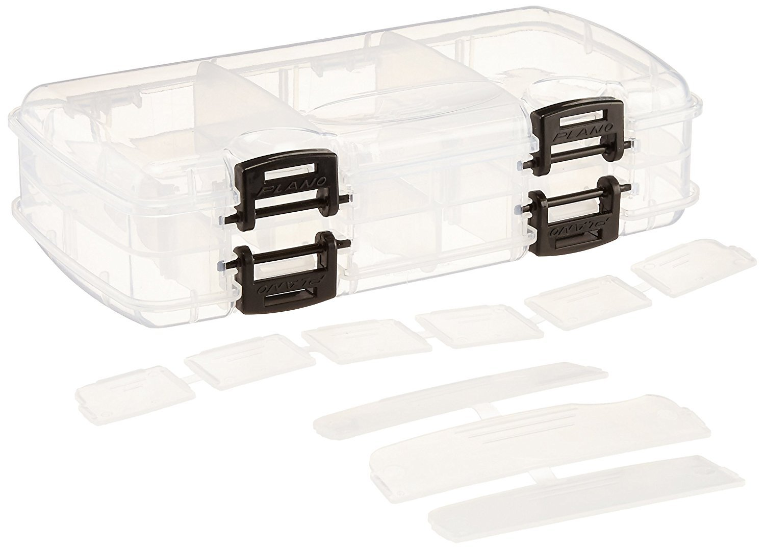 Plano 3450-23 Double-Sided Tackle Box, Premium Tackle Storage (2 Pack) by Plano