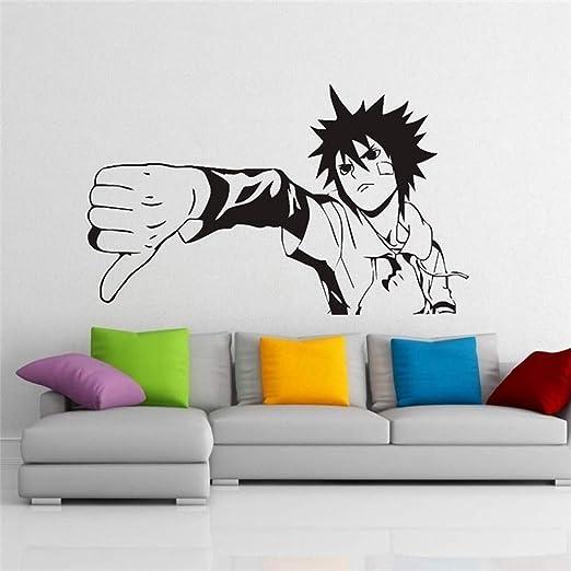 Etiqueta de la pared Decal Vinyl Decor Anime Manga Naruto Art ...