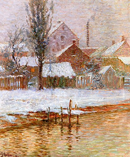 John Sloan Gordon First Snow Art Gallery of Hamilton Ontario, Canada 30