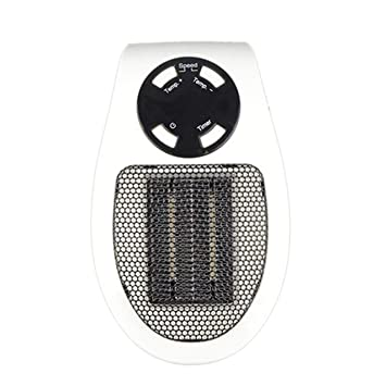 ... W Mini Calentador de aire eléctrico Potente soplador caliente Calentador rápido Estufa de ventilador para oficina en el hogar: Amazon.es: Coche y moto