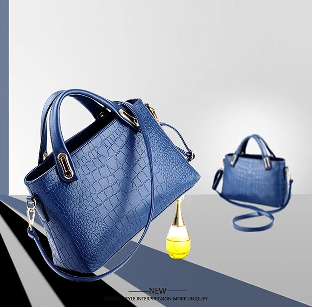 Amazon.com: FDelinK Womens Shoulder Bags Leather Tote Satchel Purses and Handbags 3 Pcs Set Messenger Hobo Bag (Beige): Clothing