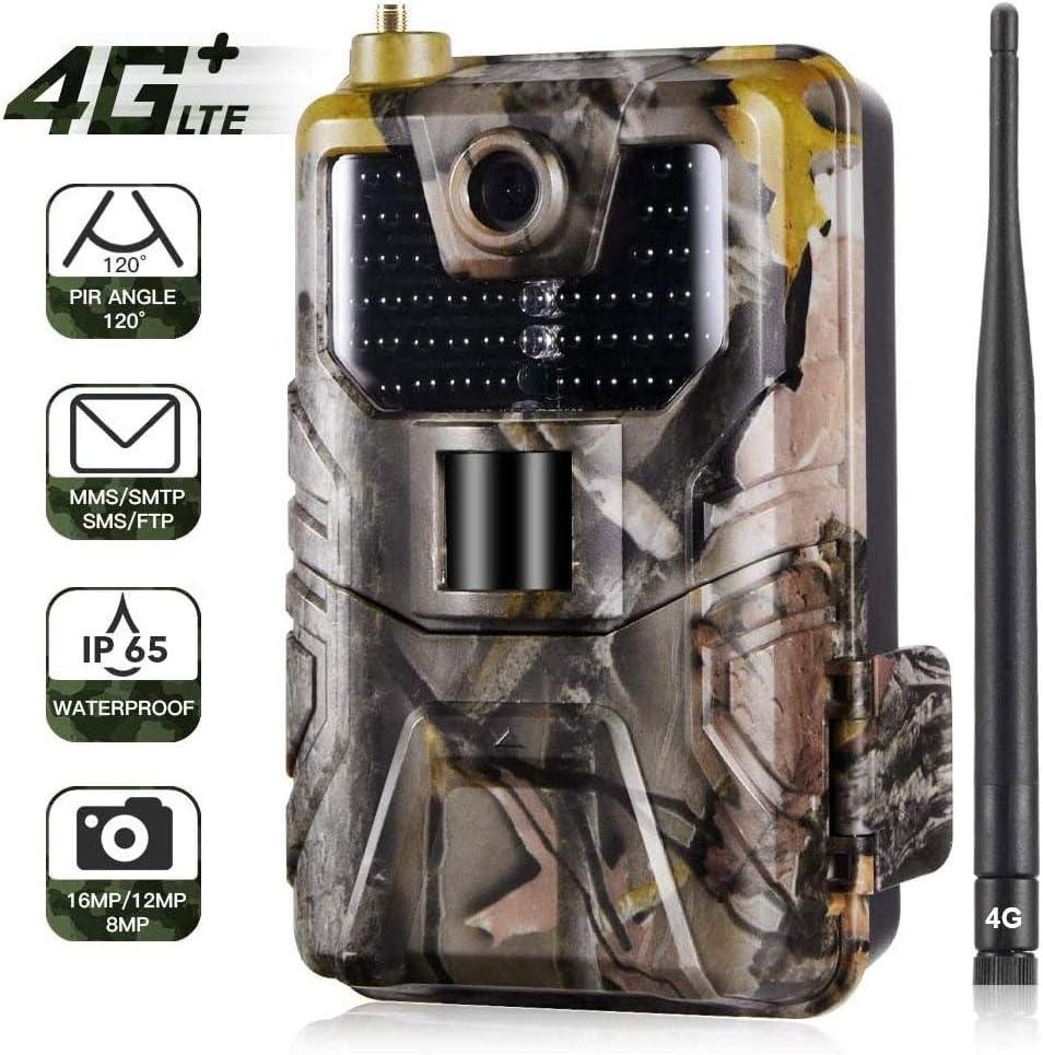 12MP Trail Camera 1080P HD Hunting Cam PIR IR Night Vision IP65 Waterproof