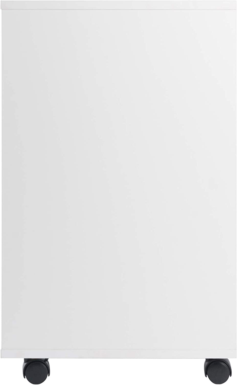 Winsome Halifax Storage/Organization, 5 Drawer, White : Furniture & Decor