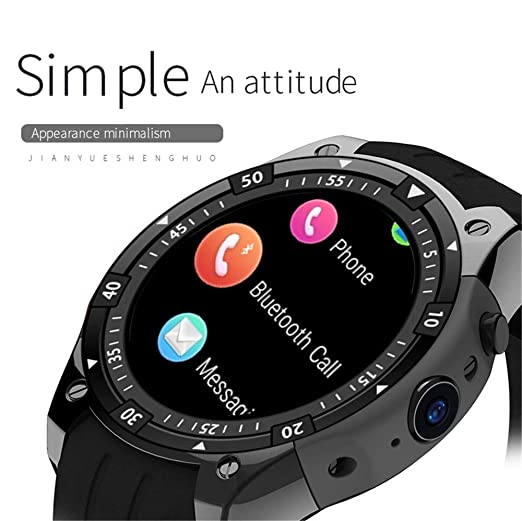 Amazon.com: Reloj inteligente IP67 impermeable de lujo ...