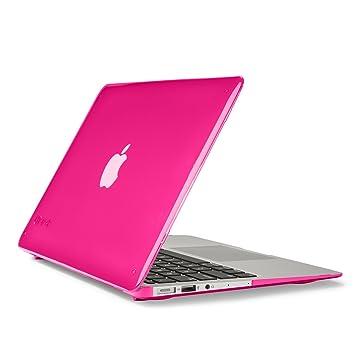 Speck Carcasa Rígida SeeThru para MacBook Air de 13 Pulgadas - Rosa Caliente: Amazon.es: Informática