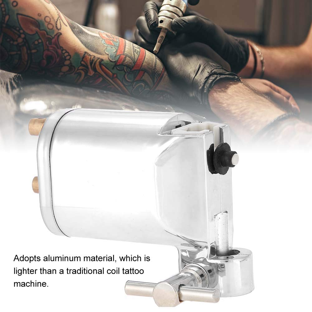 Tattoo Gun Alloy Máquina rotatoria de tatuaje Motor fuerte ...