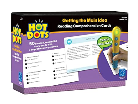 Amazon.com: EI-2790 - HOT DOTS READING COMPREHENSION KITS by ...