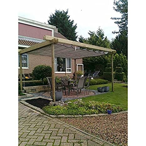 Amazon.de: Sunfighters Sonnenschutz Garten Balkon und Terrasse ...