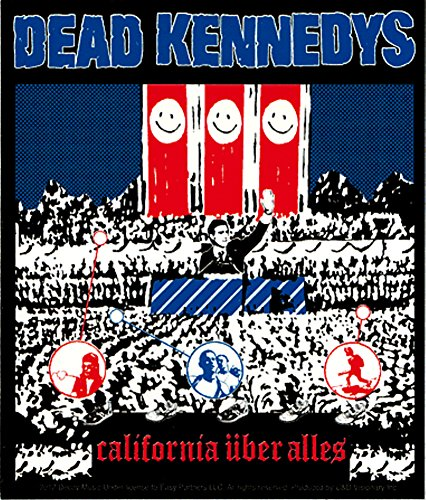Dead Kennedys Punk Rock Music Band Sticker - California Uber Alles