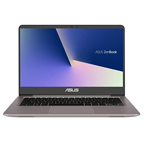 ASUS ZenBook UX410UA GV426 Portátil de 14 FullHD Intel Core i7 8550U 8GB RAM 128GB SSD 1TB HDD Sin sistema operativo Gris Cuartzo Teclado QWERTY Español