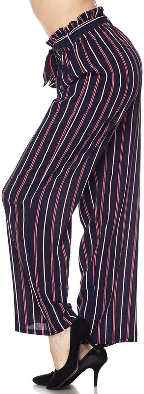 2LUV Womens High Waisted Super Wide Leg Palazzo Pants