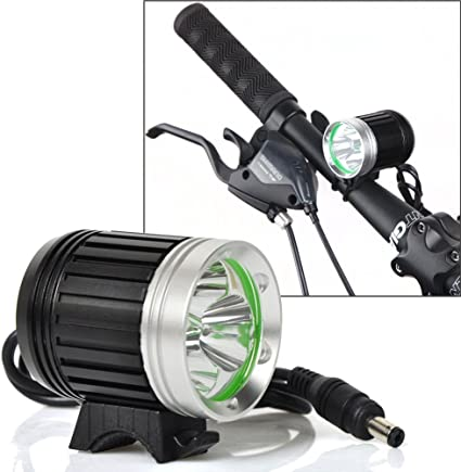 9600LM 8 LED MTB Mountain Bike Front Light Bicycle Lamp Headlight Rechargeable