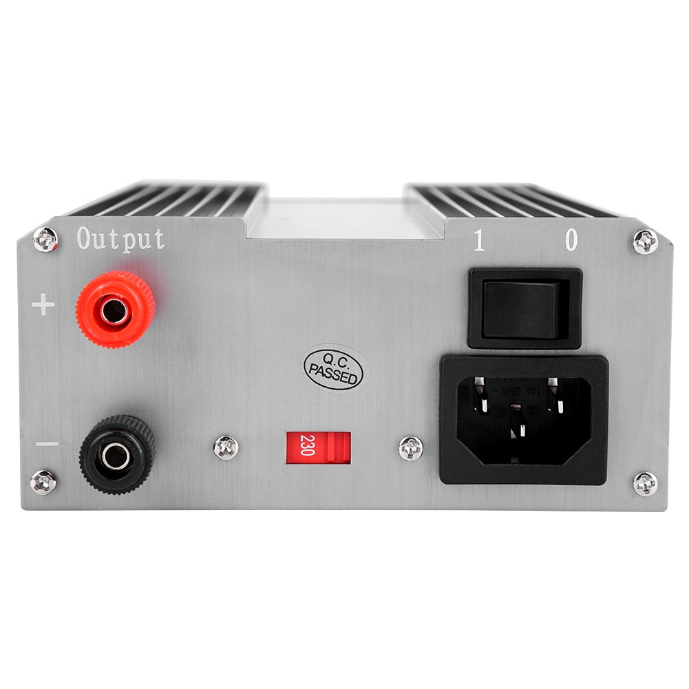 US Plug110V Adjustable DC Power Supply,Adjustable Power Supply 110V//220V Power Supply igital Display Mini Variable Adjustable DC Power Supply with Plug