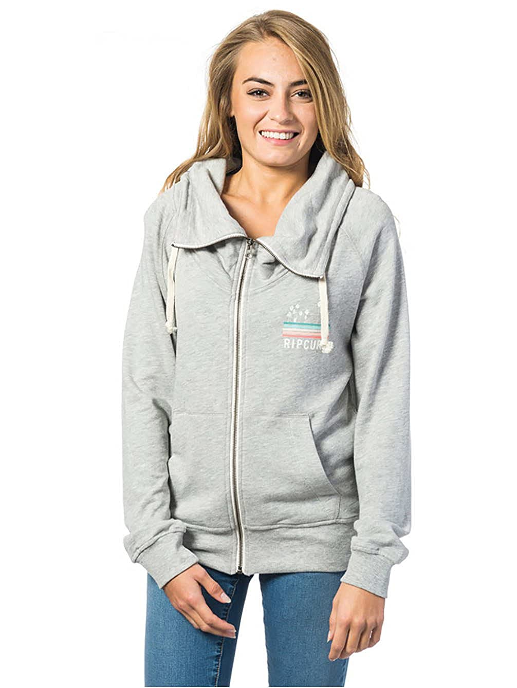 RIP CURL Sun and Surf Zip Fleece Chándal, Mujer, Gris, Small ...