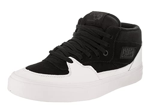 ba58c9f993bcf0 Vans Women s Half Cab (Dipped) Skate Shoe Black True White 9 M US Women    7.5 M US Men  Buy Online at Low Prices in India - Amazon.in