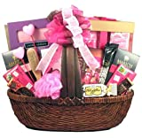 Pampering Spa and Chocolate Valentines Day Gift Basket for Women