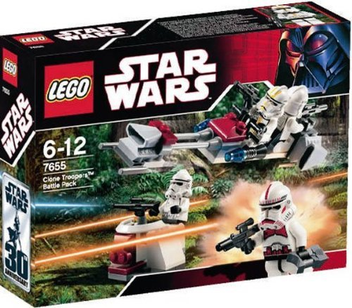 Lego Star Wars Clone Trooper Battle Pack 7655 by (Trooper Battle Pack)