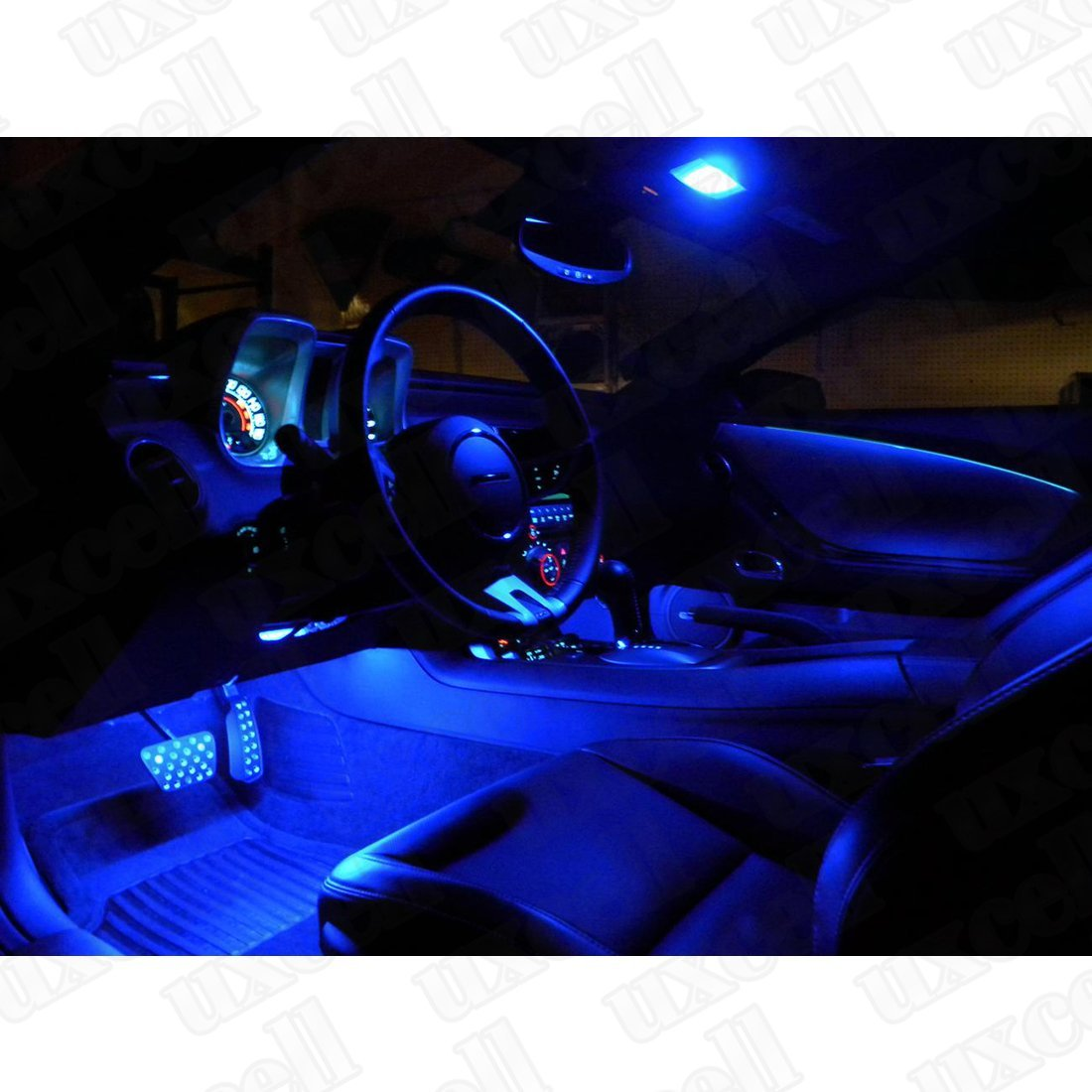 Amazon.com: eDealMax 10x 41 mm 8-LED SMD 3528 Azul Adorno de la bóveda Interior Mapa Luz 569 560: Automotive