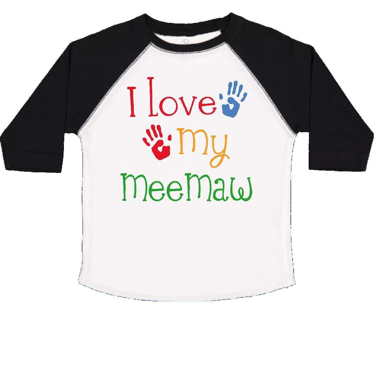 inktastic I Love My Meemaw Toddler T-Shirt