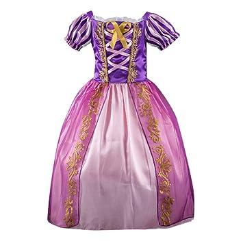 83c9f38991bcc シンデレラ 風 衣装 キッズコスチューム 女の子 Timsa ラプンツェル ドレス プリンセスなりきり 子供 ドレス キッズ 子ども お姫様